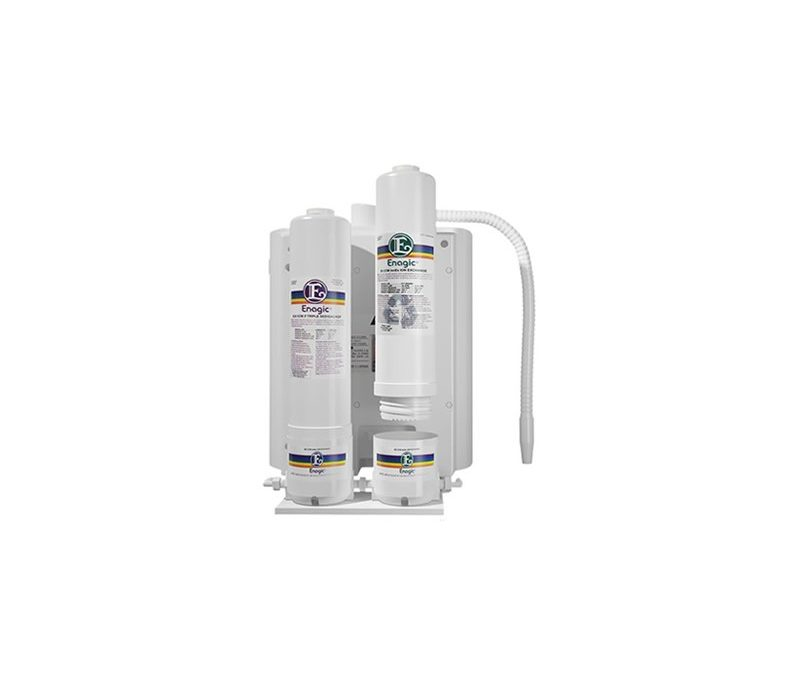Sistem dublu de prefiltrare a apei alcaline Kangen